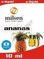 E liquid Milsen Ananas 0 mg 10 ml