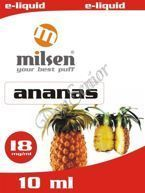 E liquid Milsen Ananas 18 mg 10 ml