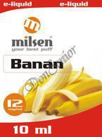E liquid Milsen Banan 12 mg 10 ml