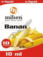 E liquid Milsen Banan 18 mg 10 ml