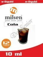 E liquid Milsen Cola 12 mg 10 ml