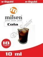 E liquid Milsen Cola 18 mg 10 ml