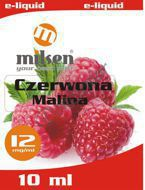 E liquid Milsen Czerwona Malina 12 mg 10 ml