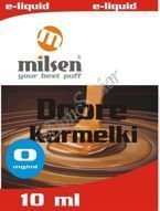 E liquid Milsen Dobre Karmelki 0 mg 10 ml