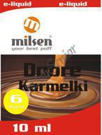 E liquid Milsen Dobre Karmelki 6 mg 10 ml