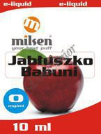E liquid Milsen Jabłuszko Babuni 0 mg 10 ml