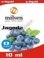 E liquid Milsen Jagoda 0 mg 10 ml