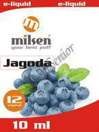 E liquid Milsen Jagoda 12 mg 10 ml