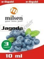 E liquid Milsen Jagoda 3 mg 10 ml