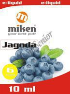 E liquid Milsen Jagoda 6 mg 10 ml