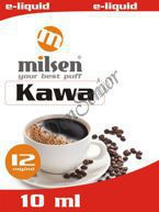 E liquid Milsen Kawa 12 mg 10 ml