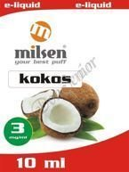 E liquid Milsen Kokos 3 mg 10 ml