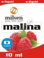 E liquid Milsen Malina 0 mg 10 ml