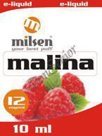 E liquid Milsen Malina 12 mg 10 ml