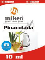 E liquid Milsen Pinacolada 0 mg 10 ml