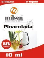 E liquid Milsen Pinacolada 18 mg 10 ml