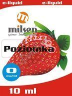 E liquid Milsen Poziomka 0 mg 10 ml
