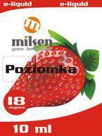 E liquid Milsen Poziomka 18 mg 10 ml