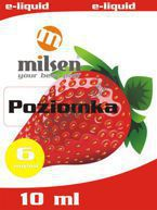 E liquid Milsen Poziomka 6 mg 10 ml