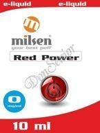 E liquid Milsen Red Power 0 mg 10 ml