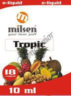 E liquid Milsen Tropic 18 mg 10 ml