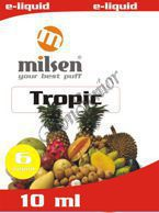 E liquid Milsen Tropic 6 mg 10 ml
