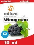 E liquid Milsen Winogrono 0 mg 10 ml