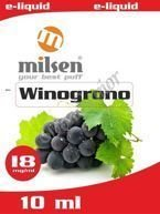 E liquid Milsen Winogrono 18 mg 10 ml