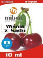E liquid Milsen Wiśnia z Sadu 0 mg 10 ml