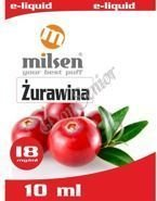 E liquid Milsen Żurawina 18 mg 10 ml