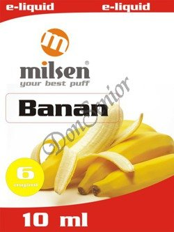 E liquid Milsen Banan 6 mg 10 ml