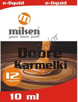 E liquid Milsen Dobre Karmelki 12 mg 10 ml