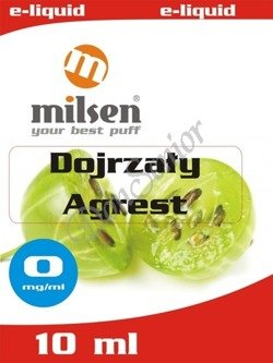 E liquid Milsen Dojrzały Agrest 0 mg 10 ml
