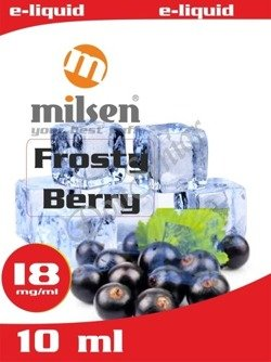 E liquid Milsen Frosty Berry 18 mg 10 ml