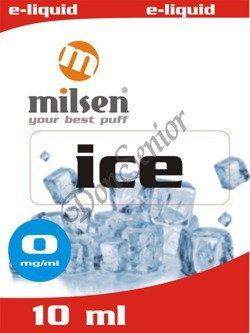 E liquid Milsen Ice 0 mg 10 ml