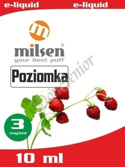 E liquid Milsen Poziomka 3 mg 10 ml