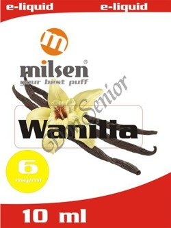 E liquid Milsen Wanilia 6 mg 10 ml