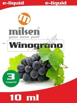 E liquid Milsen Winogrono 3 mg 10 ml